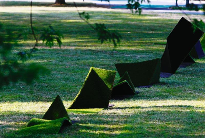 Implantation décoration parc extérieur