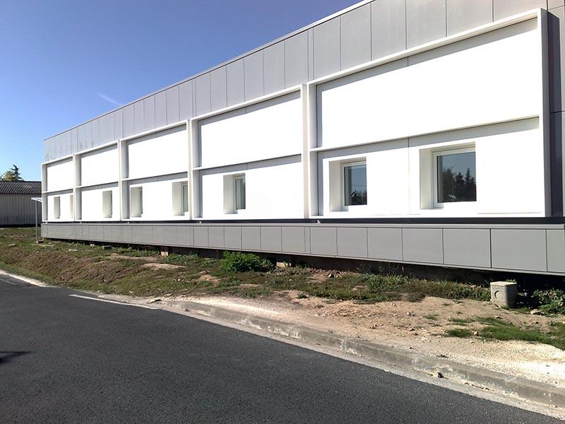 Habillage bâtiment Bow Windows